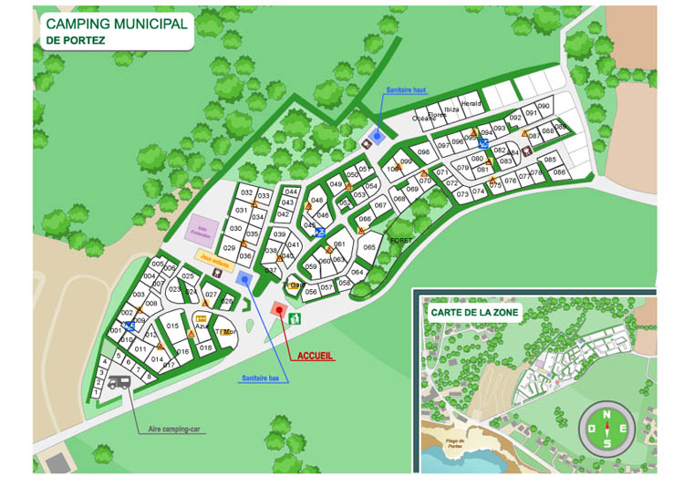 Plan camping 2016 - 3D Ouest